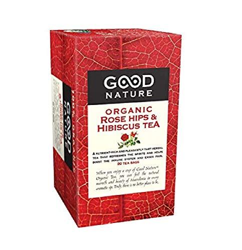 Good Nature Organic Rose Hips & Hibiscus Tea, 1.76 Ounce