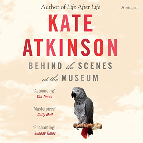 Behind the Scenes at the Museum audiobook cover art