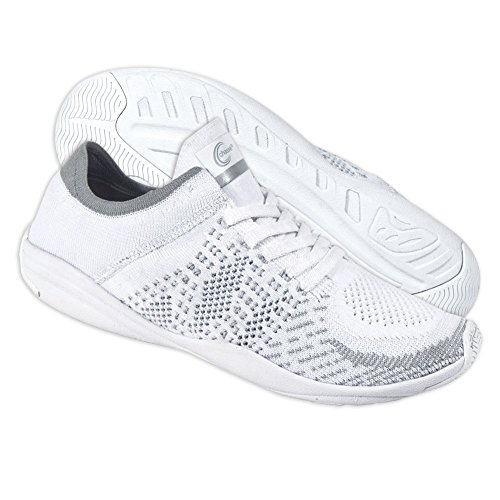 Chassé HighLyte Cheerleading Shoes - White Cheer Sneakers for Girls