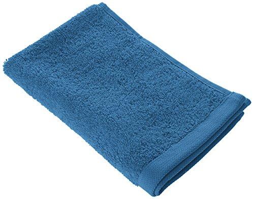 BLANC CERISE 601033 Serviette d'Invité Uni Coton Bleu