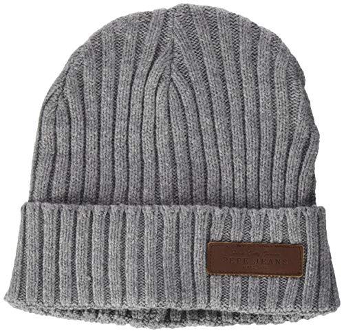 Pepe Jeans New Ural Hat Sombrero, Gris (933), Talla única para Hombre