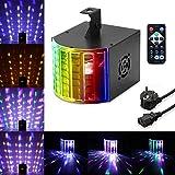 Winbang Luce a effetto a LED, luci per feste, discoteca, palcoscenico, suono, attivato, 18...