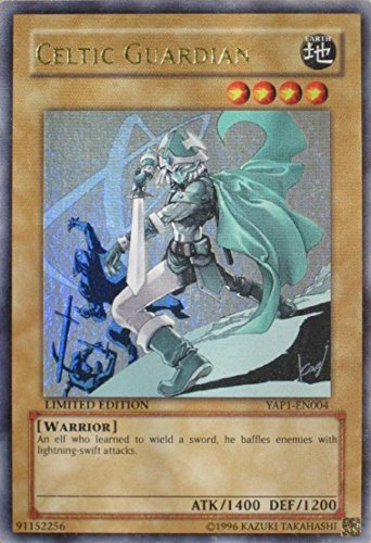 Yu-Gi-Oh! - Celtic Guardian Alternate Art YAP1-EN004 Ultra Rare