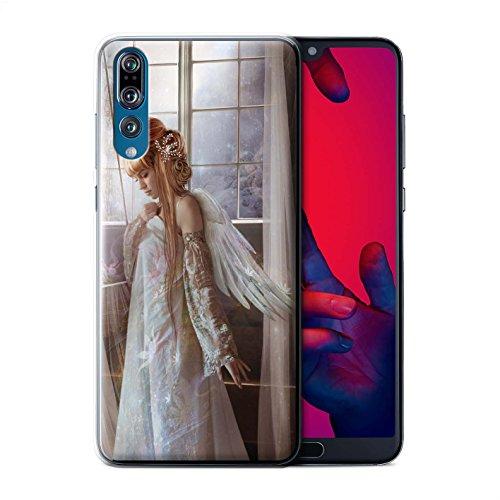 Elena Dudina Offiziell Hülle/Case für Huawei P20 Pro/Blume Kleid Braut Muster/Elegante Feen Kollektion