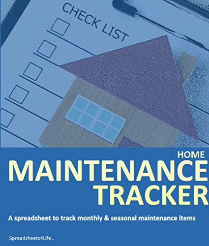 Spreadsheets4Life | Home Maintenance Tracker in Excel 1-Year Subscription | Homeowner Serviced...