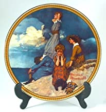 Bradford Exchange Knowles Waiting on The Shore Norman Rockwell Plate from Rockwell's Rediscovered Women Collection - CP1246