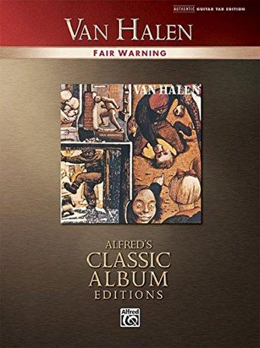 Van Halen Fair Warning: Authentic Guitar Tab