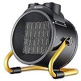 WANGT 3000w Ventilador Industrial Calentador de Espacio, Ventilador de Tambor Calentador Control Termostático Calentador Eléctrico Espacio para Invernadero Garaje Taller Shed Caravana