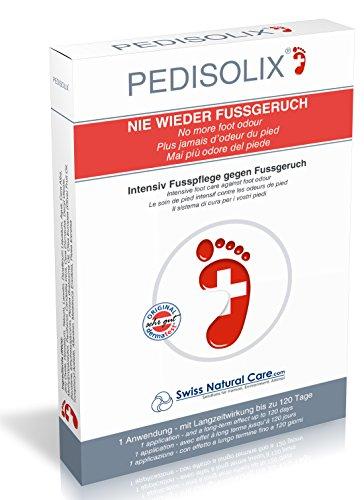 Pedisolix Fuß Deo Creme - gegen Fußgeruch & Schweißfüße - Langzeit Deodorant Fußcreme ohne Aluminium