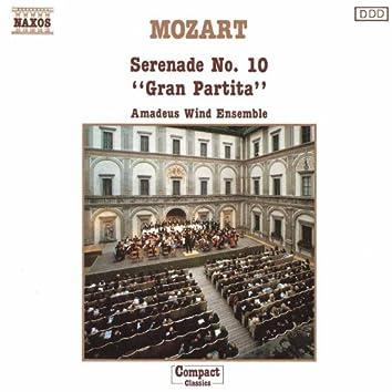 MOZART: Serenade No. 10, 'Gran Partita'