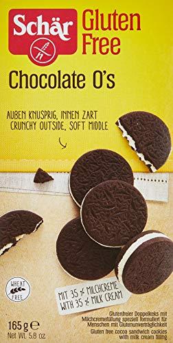 Dr. Schar Chocolate O's galletas 165 gr