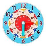 BaoYPP Juguete de Reloj de Madera Reloj de Madera Juguetes...