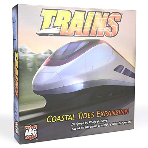 Alderac Entertainment ALD07014 Brettspiel Trains: Coastal Tides Expansion