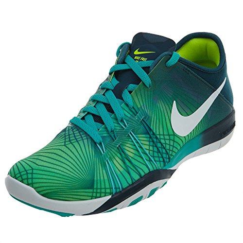 para Mujer Nike Free TR 6Zapatillas de Entrenamiento, (Clear Jade/White/Mid Turquoise/Volt), 6.5 B(M) U