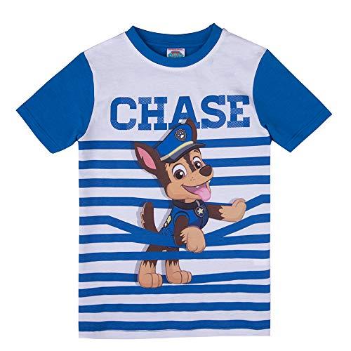 PAW PATROL Jungen T-Shirt, blau, Größe 104, 4 Jahre