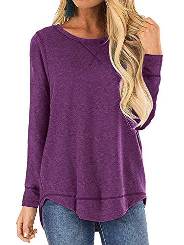 (40% OFF Coupon) Women's Soft Tops Long Sleeve Crew Neck $16.19