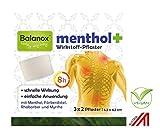 Balanox menthol+ Wirkstoff-Pflaster   Sport-Pflaster für Nacken, Schulter, Rücken, Glieder   wohltuend bei Verspannungen und akuten Belastungen