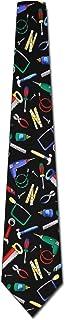 Tool Ties Tool Time Neckties Tools Tie Mens Necktie