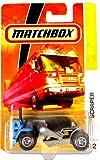 Matchbox Scraper hellblau-grau 1:64 -
