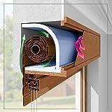 Italfrom - Kit Pannelli EPS (Inferiore e Superiore) per Isolamento termico e acustico coibentazione Vano Cassonetto Avvolgibile Tapparella