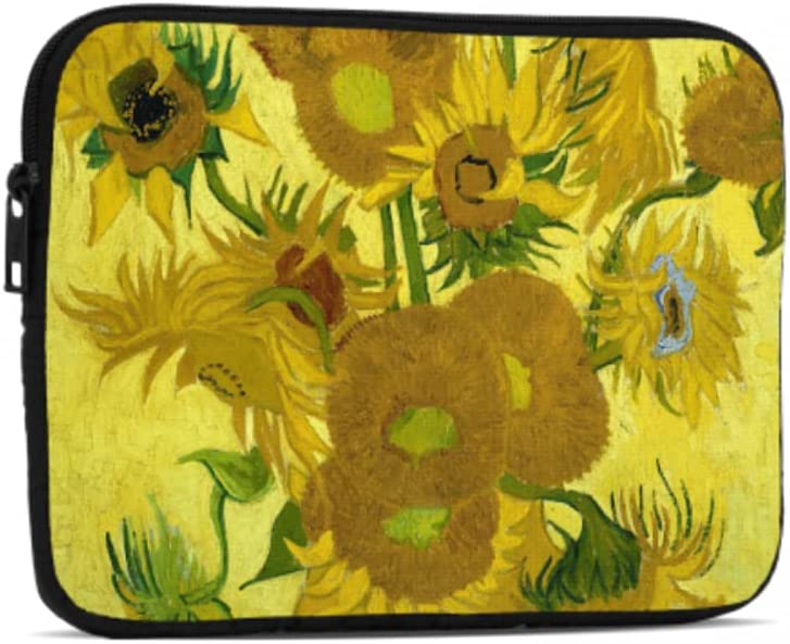 Sale Special Price Laptop Sleeve Vase with Fifteen Sunflowers by Air Gogh Ipad Van Max 81% OFF