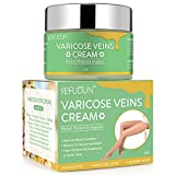 Vein cream, Varicose Veins Cream, Varicose Vein & Soothing Leg Cream,Natural Varicose & Spider Veins Treatment, Improve Blood Circulation, Tired and Heavy Legs Fast Relief 1.8 oz