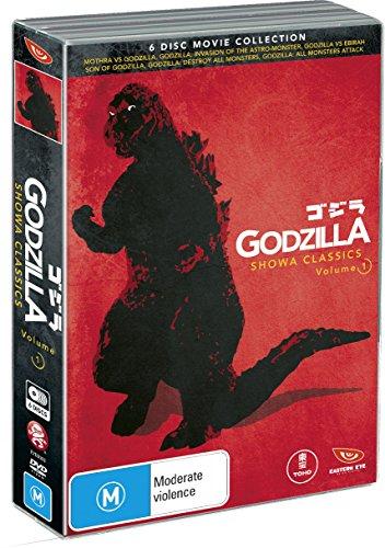 Godzilla - Showa Classics Vol 1 (6 Dvd) [Edizione: Australia]