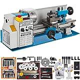 HODOY Tornio Per Metallo 2500rpm Tornio 550W Tornio Tornio Da Banco Di Precisione 7x14inch CJ8A