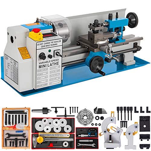 Mophorn Drehmaschine Für Metall 2500rpm Drehmaschine 550 Watt Drehmaschine Präzisionsbank Drehmaschine CJ8A