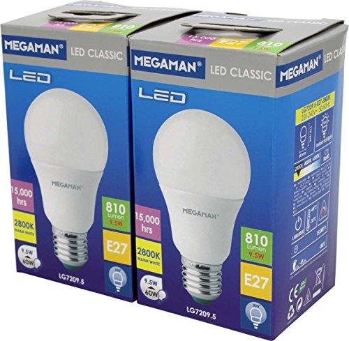 IDV (Megaman) LED-Classic-Lampe MM21945 (VE2) E27/828 A60 LED-Lampe/Multi-LED 4020856219452