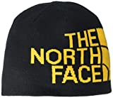 North Face NF00AKNDAGG1 Gorra Reversible TNF Banner Beanie para Unisex, Black/Gold, Talla Única