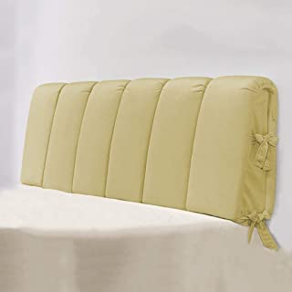 2J-QingYun Trade ベッドサイドソフトピローヘッドカバークッションラージバッククッション取り外し可能&洗えるピロークッション (Color : F, サイズ : 150cm)