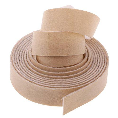 MagiDeal 10m Sangles en Cuir Synthétique Bretelles Haute Qualité Accessoire Fabrication De Sac À Main DIY - Beige