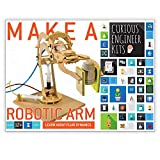 Make a working wooden Robotic Arm Kit   Learn about fluid dynamics   facts and easy instructions included   Copernicus Toys Curious Engineer Kit