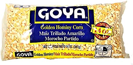 Goya dry golden hominy corn 14 oz (Pack of 3)