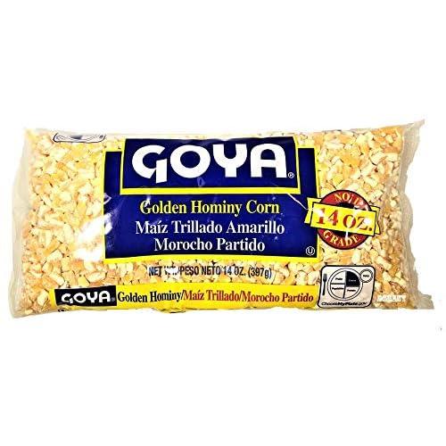 Goya dry golden hominy corn 14 oz (Pack of 3)