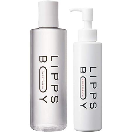 リップスボーイ メンズ フェイストナー(化粧水)+モイスチャーミルク(乳液)セット 男性 高保湿