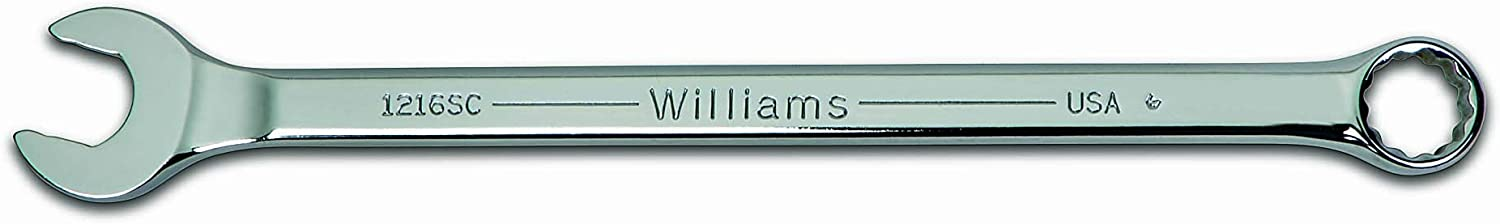 Sales for sale Williams 1218SC Super New products world's highest quality popular Combo Wrench 16-Inch 9 Combination