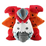 VIVUJOY - Pancham Plush Toy 25Cm Cartoon Anime Panda Plush Stuffed Toys Gifts for - 25cm Volcarona