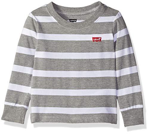LEVI `S BABY BOYS LONG SLEEVE GRAPHIC T 셔츠