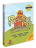 Preschool Prep Workbook (featuring all of the characters from Meet the Letters, Meet the Numbers, Meet the Shapes, Meet the Colors) 0982033168 Book Cover