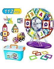 マグ?#24237;氓去芝恁氓BLA 磁石ブロック 子供 マグ?#24237;氓趣玀瀝恪?#30007;の子 女の子 磁気おもちゃ 想像力と創造力を育てる 磁性構築ブロック 子ども 図形 組み立て DIY 知育玩具 出産祝い 贈り物 立体パズル ビルディング積み木 入園 ギフ?#21462;?#30913;石おもちゃ 誕生日 プレゼン?#21462;?12ピース 収納ケース付き