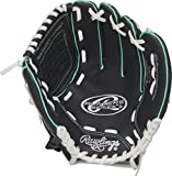 Rawlings Players Series Youth Baseball Glove, 10.5 inch, Right Hand Throw, Black/Mint/White (MODPL105BMT-6/0)