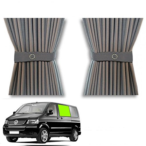 Kit de cortina para puerta corredera para caravana VW T5: Amazon ...