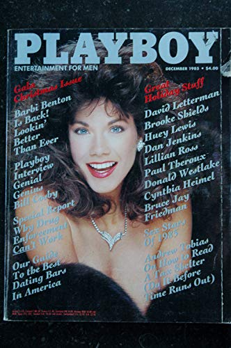 PLAYBOY US 1985 12 INTERVIEW BILL COSBY Barbi BENTON Lillian ROSS Barbara Klein Carol Ficatier BROOKE SHIELDS