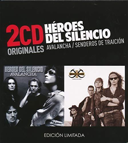 Heroes Del Silencio -Avalancha  /  Senderos De Traición  (2 CD)