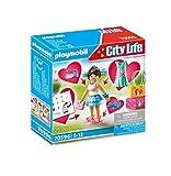 PLAYMOBIL City Life 70596 Chica Fashion, Para niños de 5 a 12 años