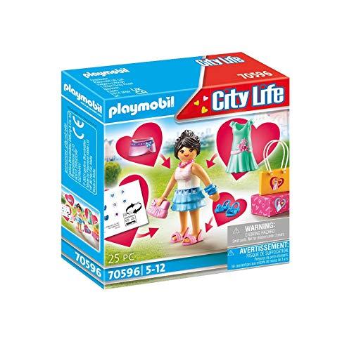 PLAYMOBIL City Life 70596 Fashion Girl, Für Kinder von 5 - 12 Jahren