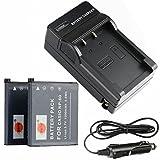 Original VHBW ® cargador para Casio np-60 Exilim ex-z85 ex-Z 85