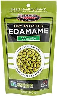 Dry Roasted Edamame, Wasabi, 3.5 oz - pack of 3